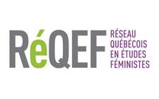 """<a href=""""https://reqef.uqam.ca/le-reqef/membres/membres-secteur-universitaire/"""" target=""""_blank"""" rel=""""noopener"""">RÉQEF</a> Réseau Québécois en études féministes"""