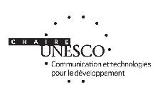 """<a href=""""https://unesco.com.uqam.ca/la-chaire/comites/membres/"""" target=""""_blank"""" rel=""""noopener"""">Chaire UNESCO</a> en communication et technologies pour le développement"""
